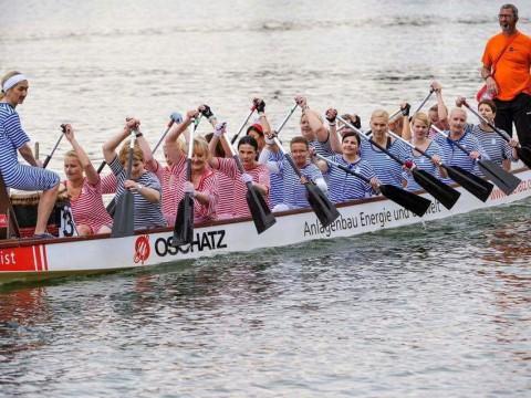 Damengarde Drachenboot