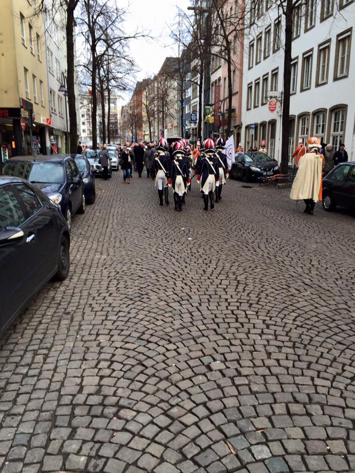 Damengarde Einzug Hofburg