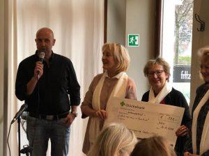 Spendenübergabe Café Famillich